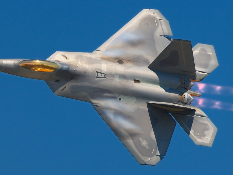 Lockheed Martin F 22 Raptor wallpaper 808x606