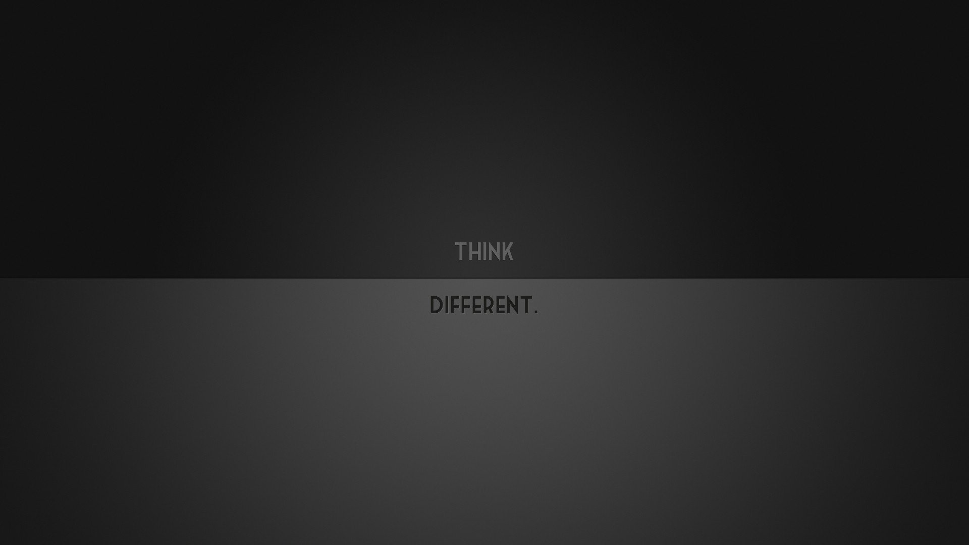 Minimalistic Think Different HD Desktop wallpaper images and photos 1920x1080