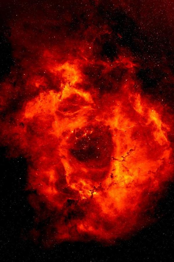 Fire Nebula iPhone Wallpaper iPhone 4 Walls 600x900