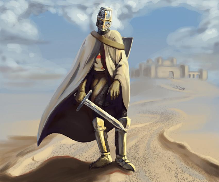 Knight Templar Wallpaper Knight templar by radar6590 850x708