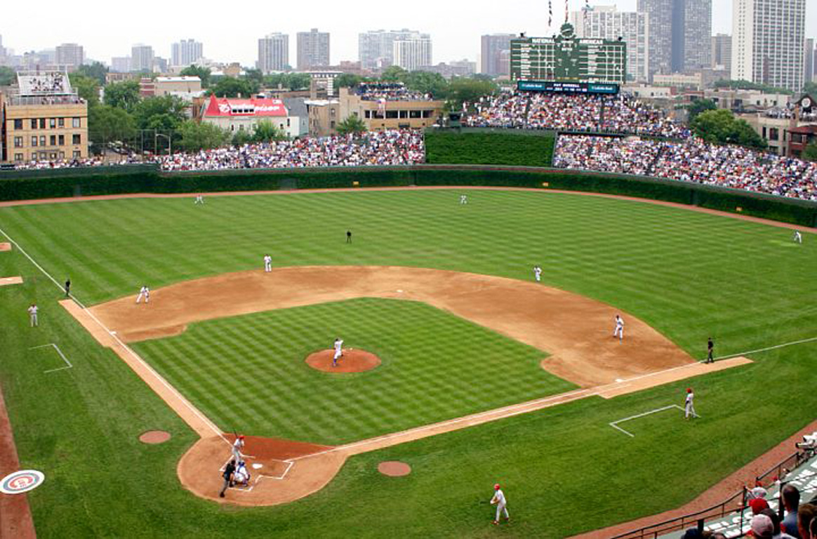 Oh To Be At Wrigley Bleacher Report 1164x768