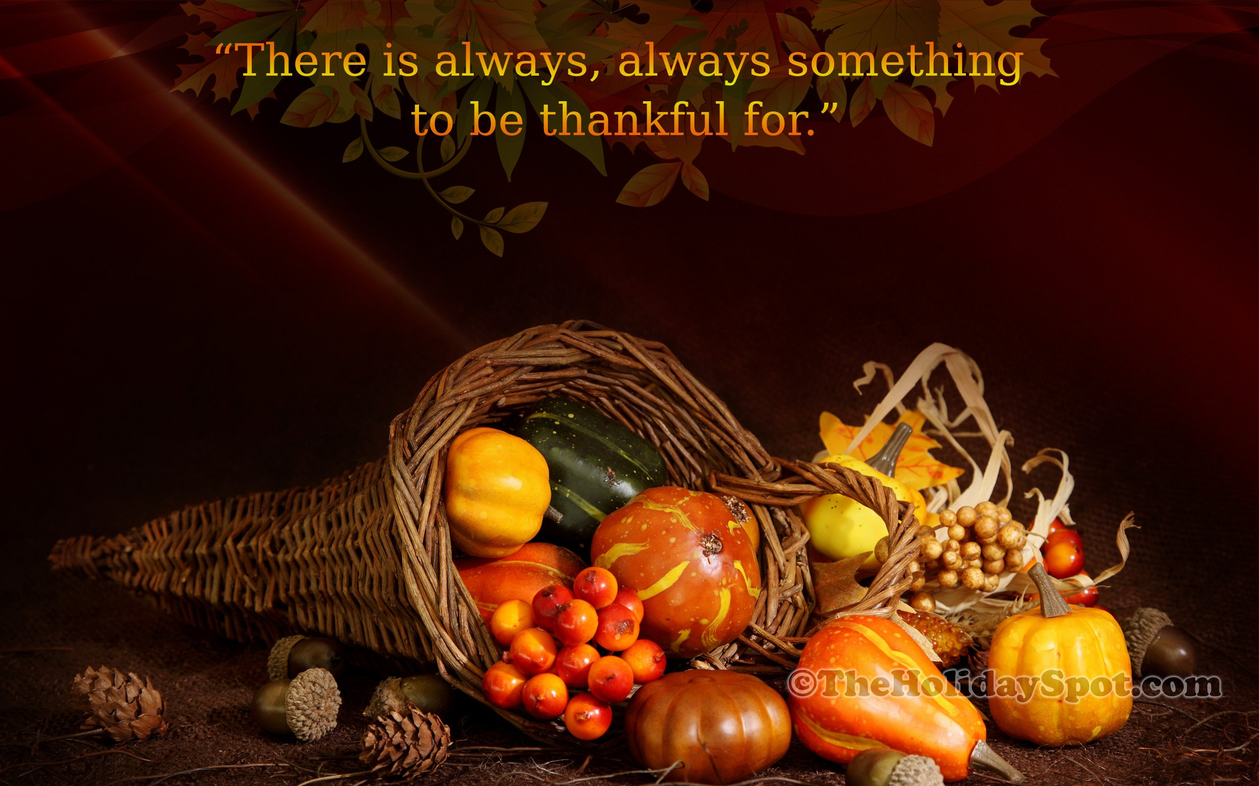 Happy Thanksgiving Wallpapers Wallpaper Download   High Resolution 2560x1600