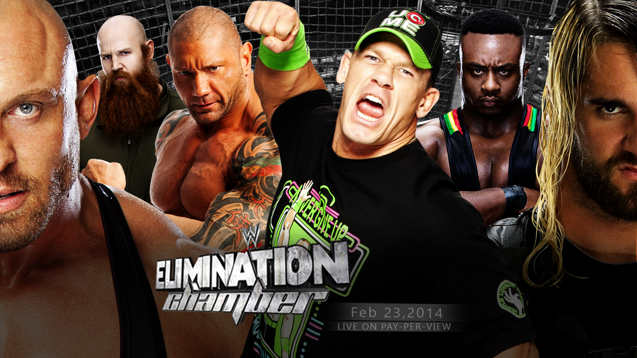 Elimination Chamber 2014   Wallpaper by mikelshehata on 1284x722