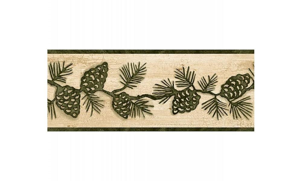 Rustic Lodge Wallpaper Borders for Pinterest 1000x600