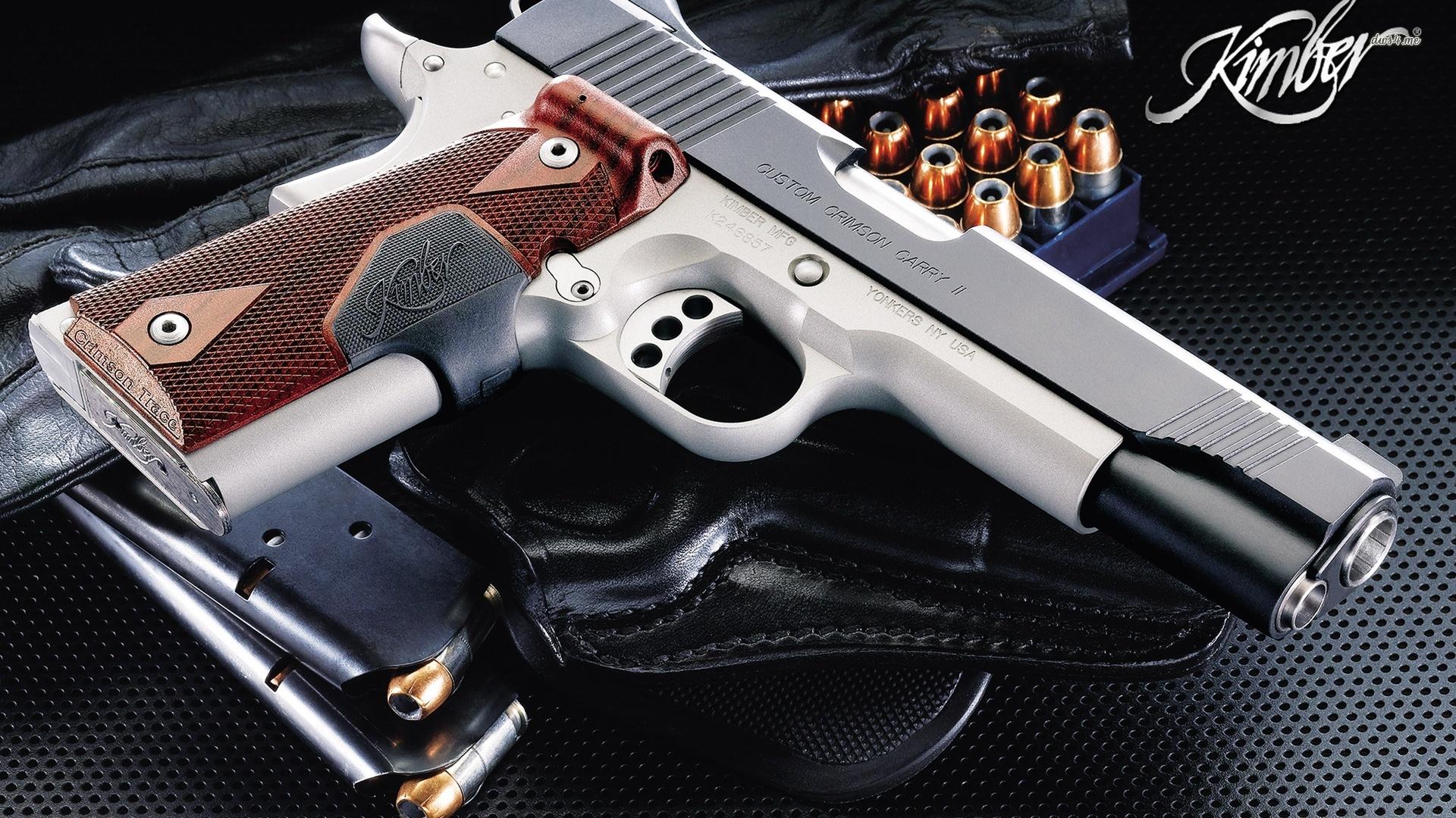 Kimber 1911 pistol wallpaper   972757 1920x1080
