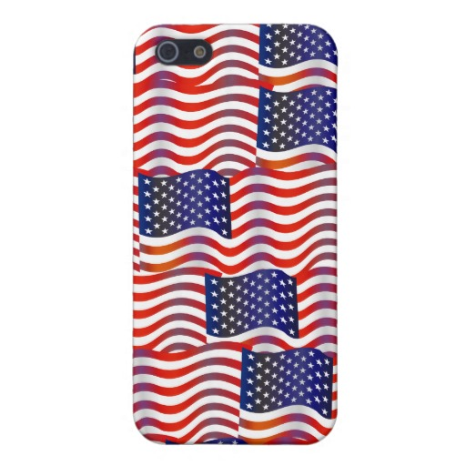 Usa Wavy Flag Wallpaper iPhone 5 Covers Zazzle 512x512
