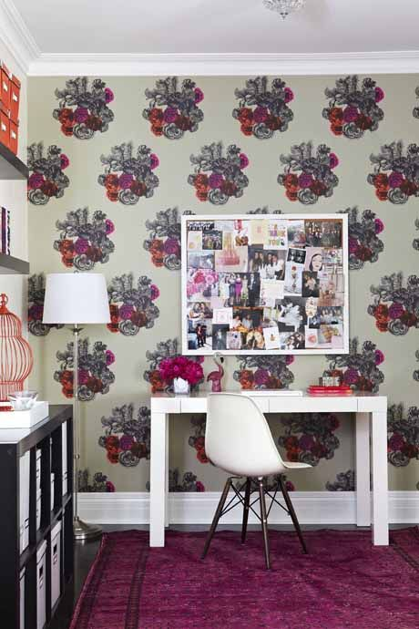love this Cole Sons Fornisetti wallpaper 460x690