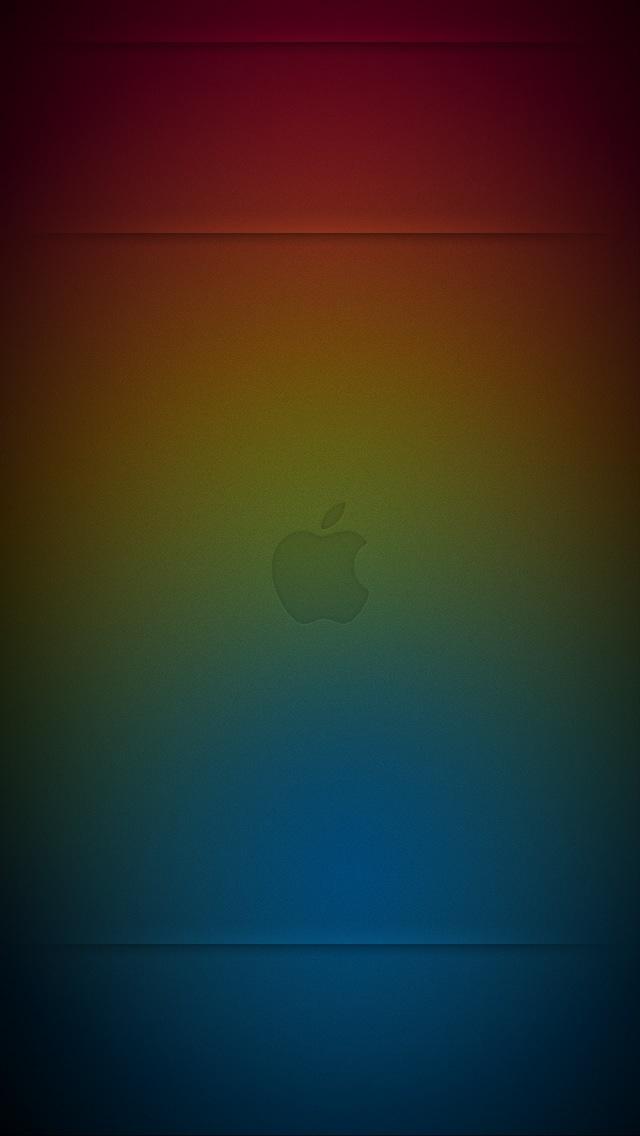 Free Download Iphone 5 Wallpaper Apple Colors Lockscreen