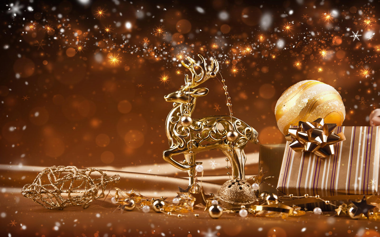 Christmas Reindeer Wallpaper Wallpapersafari