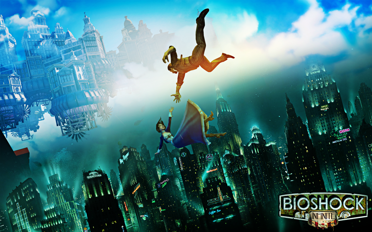 Bioshock 1Infinite Wallpaper By MajorasKeyblade 1280x800