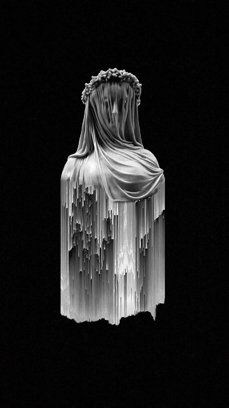 Hypebeast Wallpapers nixxboi in 2019 Glitch art Sculpture 750x1334
