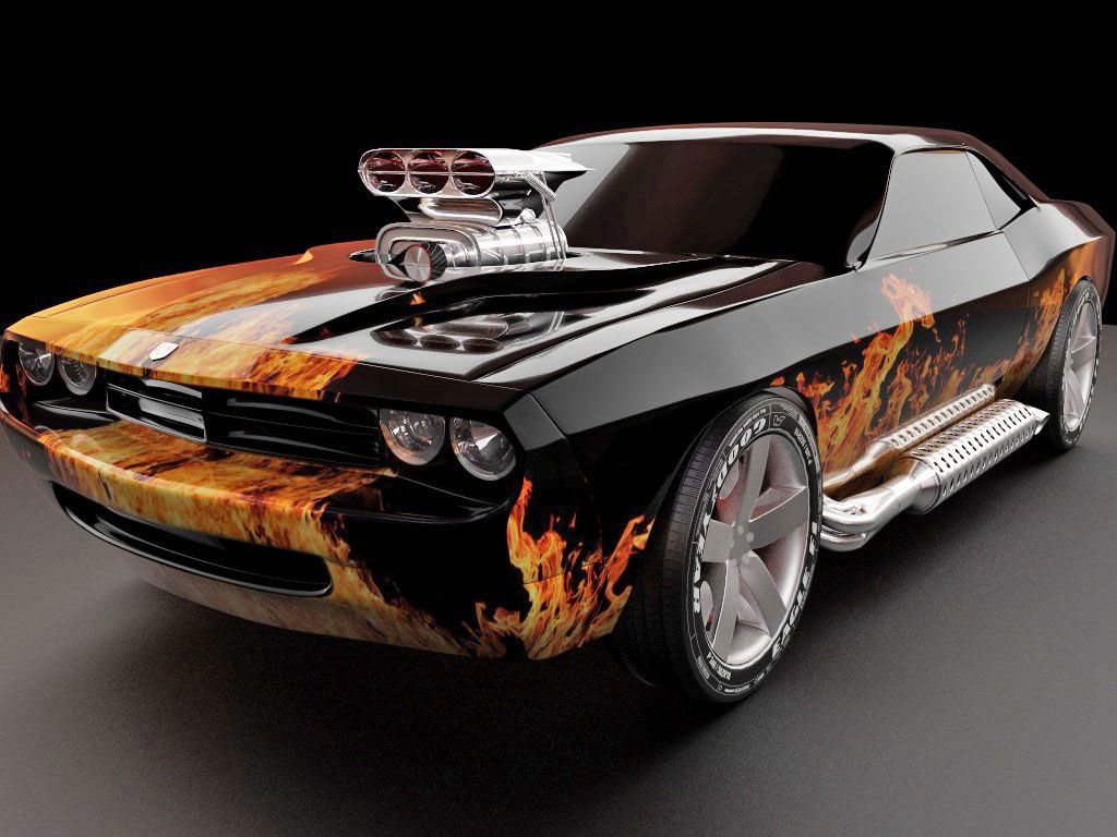 Dodge Challenger Cars 1024x768