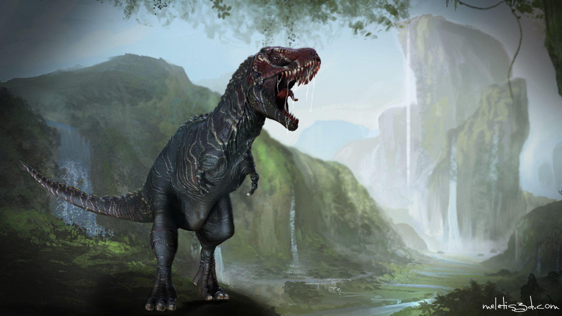 Wallpapers Tyrannosaurus Rex 1920x1080
