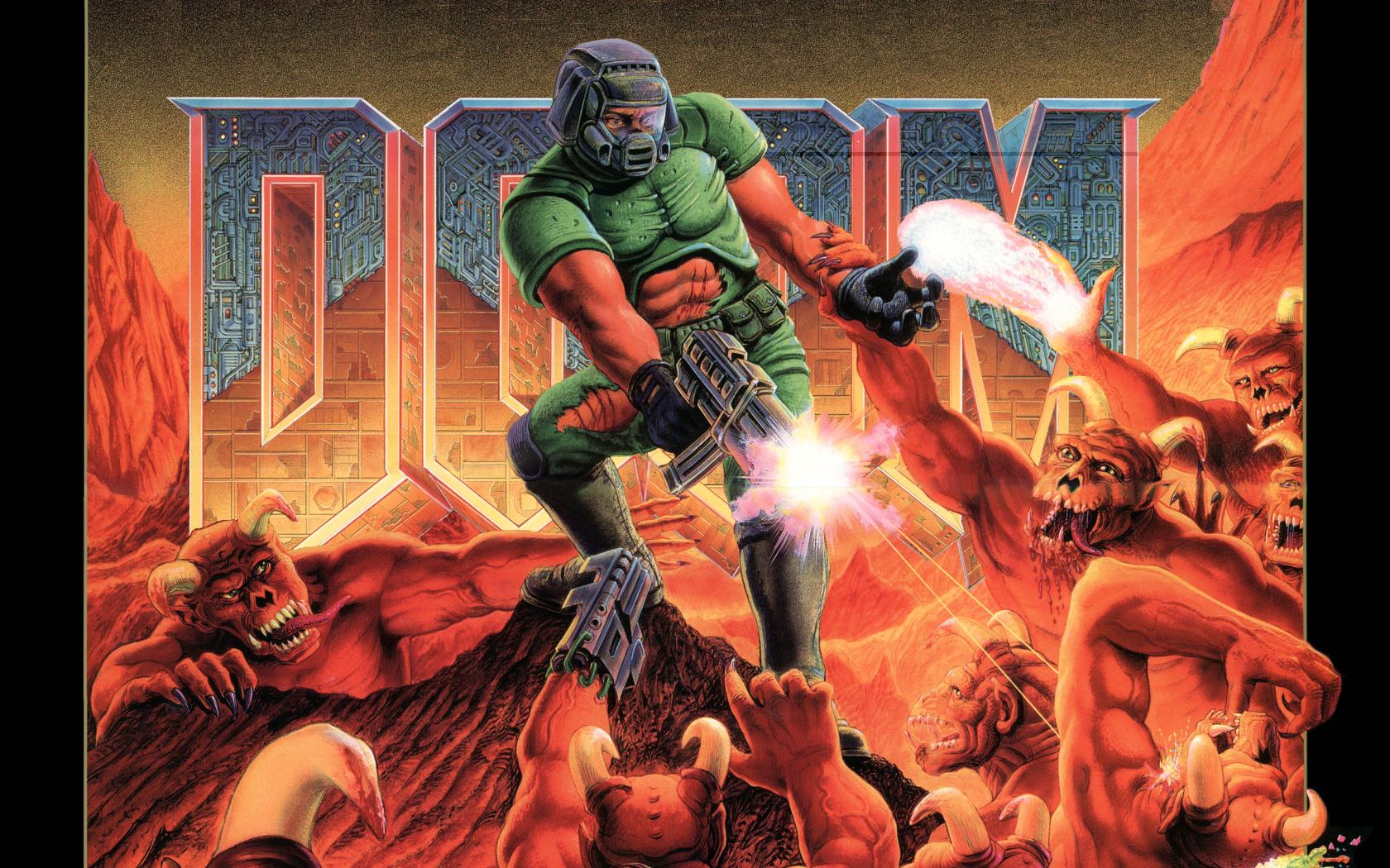 Fonds dcran Doom tous les wallpapers Doom 1680x1050