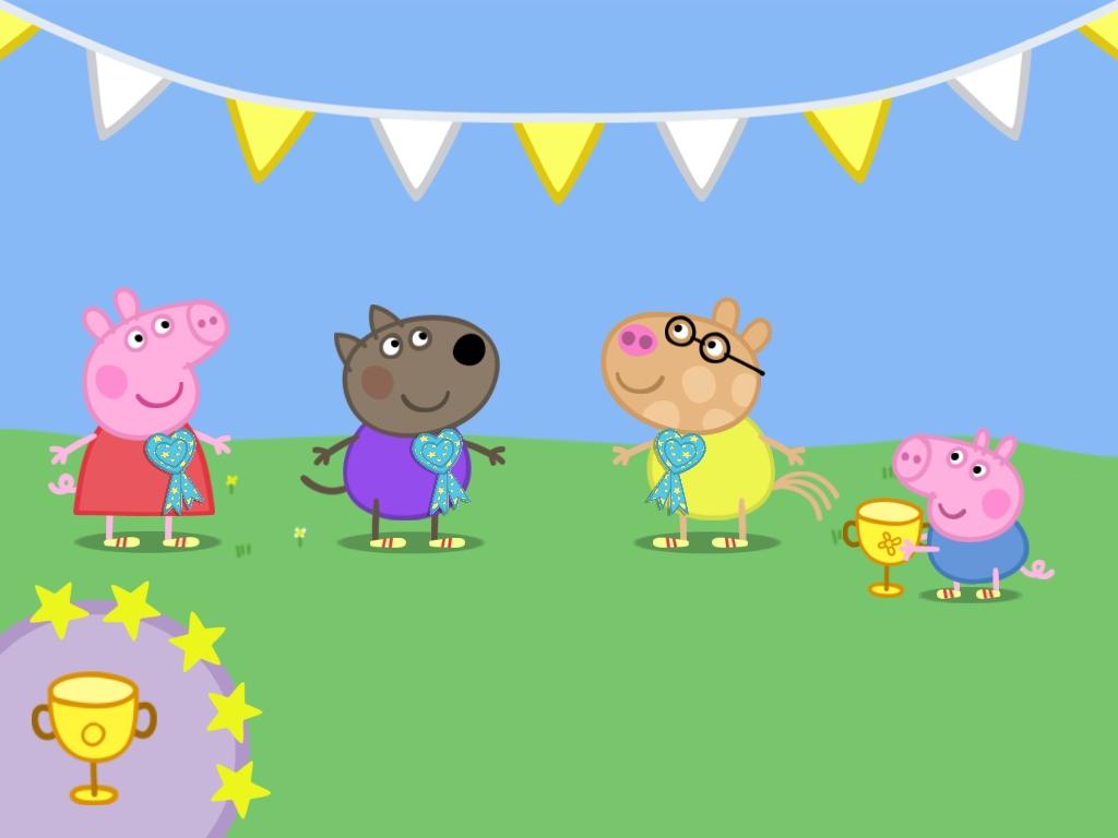 Peppa Pig Sports Day 1024x768