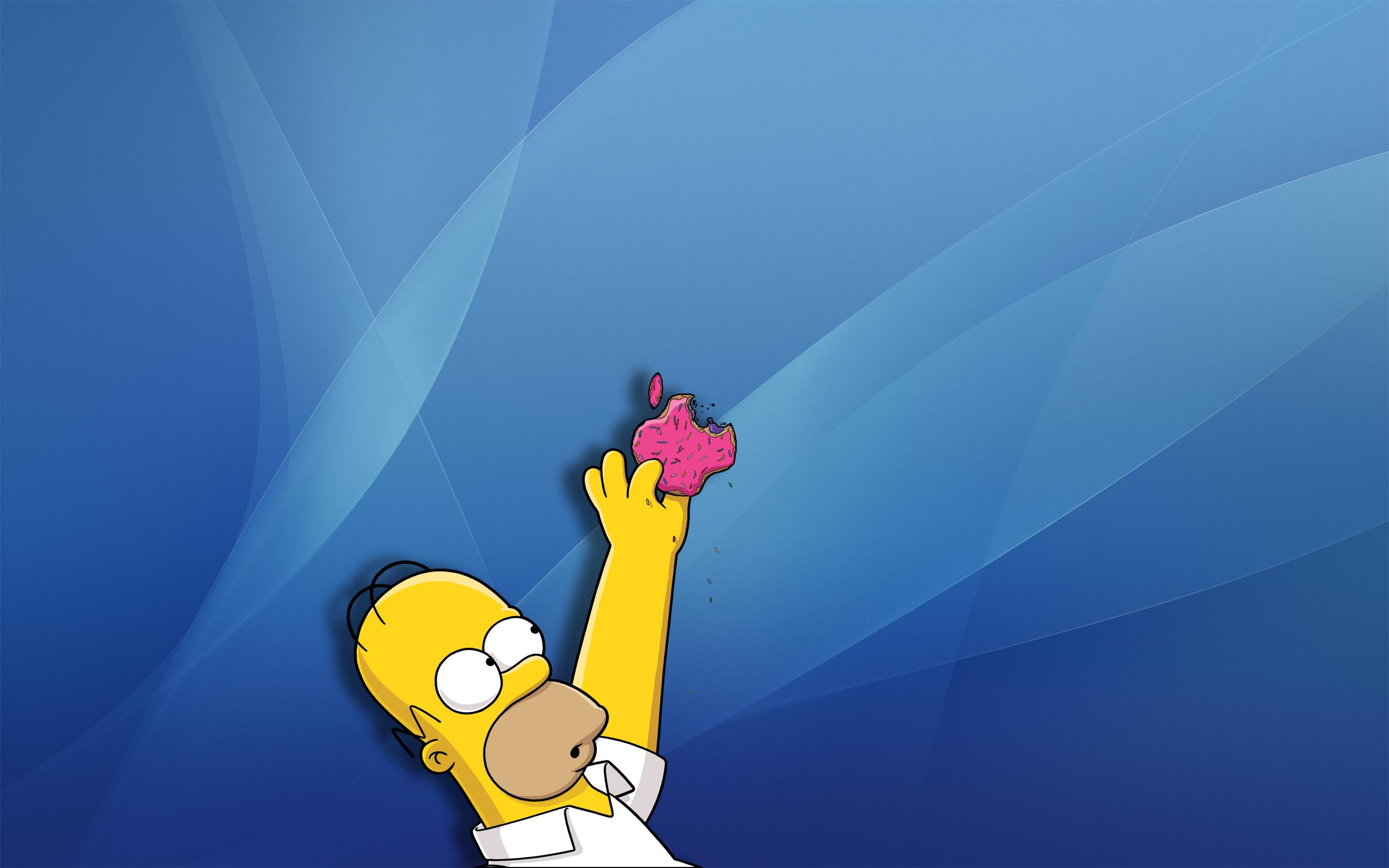 Papel de Parede Os Simpsons   Homer Simpson Wallpaper para Download no 2560x1600