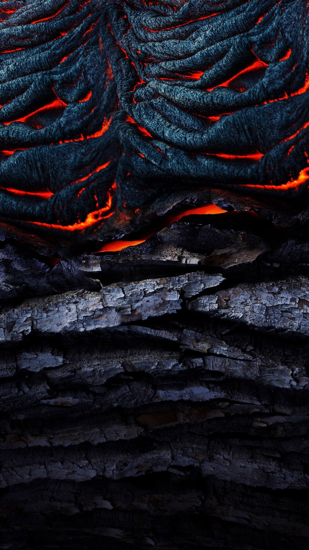 Fiery Stone and Wood Fire Phone Wallpaper Wallpapers For Tech 1080x1920