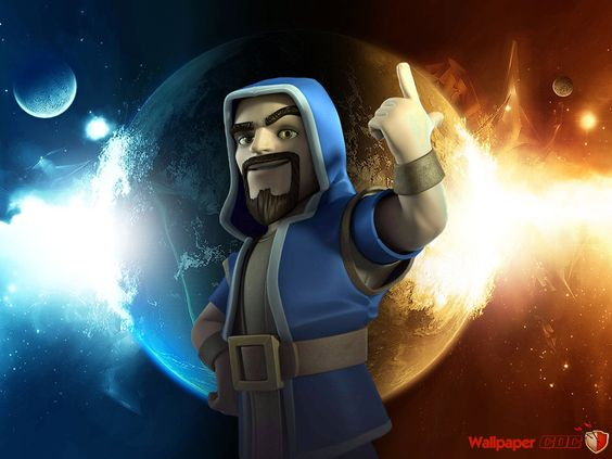 Wizard Fire and Lightning clash royale Pinterest 564x423