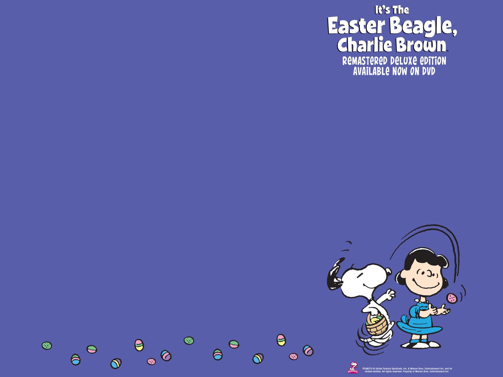 download Charlie Brown Easter Charlie brown desktop 1600x1200