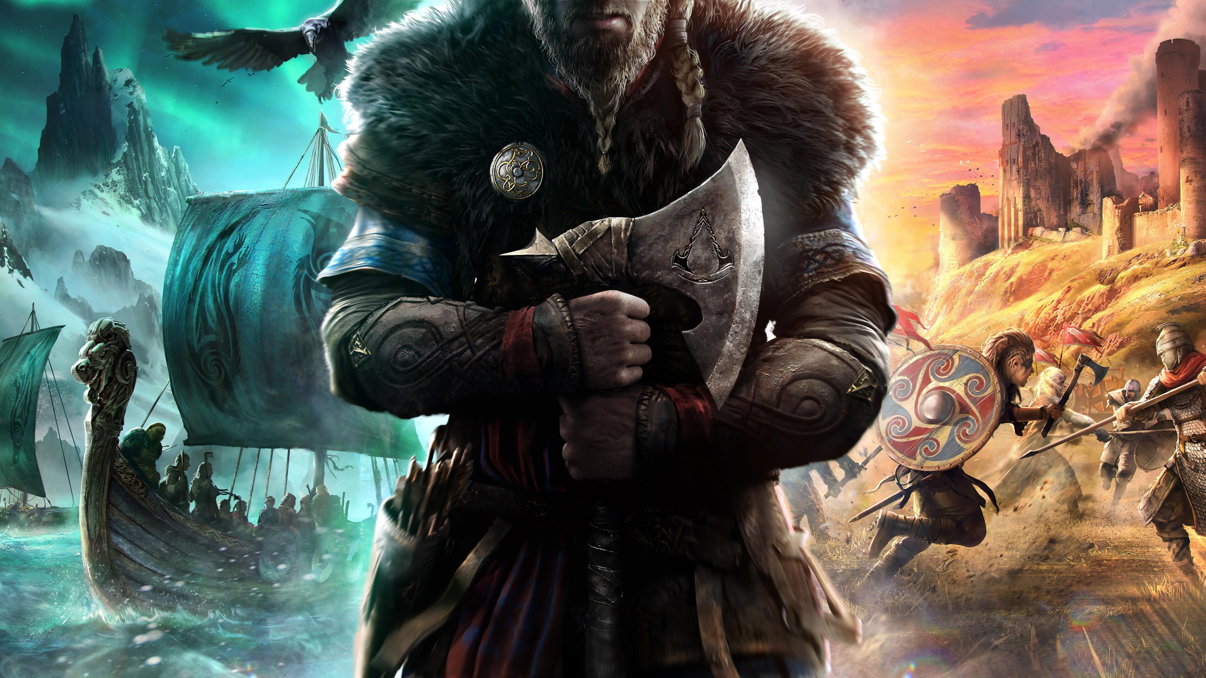 Assassins Creed Valhalla 8K Wallpaper 71958 3840x2160