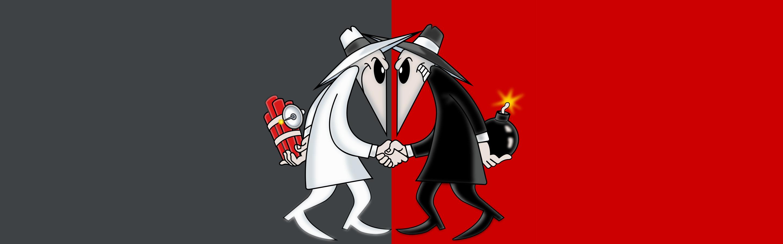 Spy vs Spy Wall Paper by Zarious 2880x900