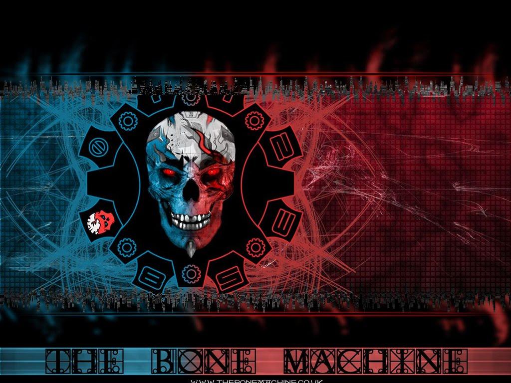 Evil Skull Art Wallpaper 1024x768