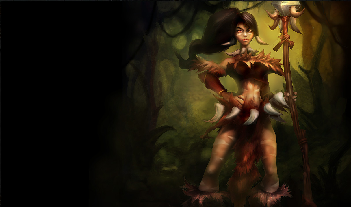 Nidalee Wallpapers Chinese American 1215x717
