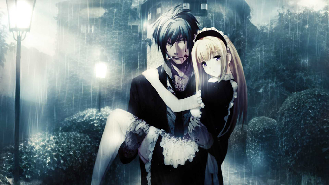 Love Anime Wallpaper Live HD Wallpaper HQ Pictures 1366x768