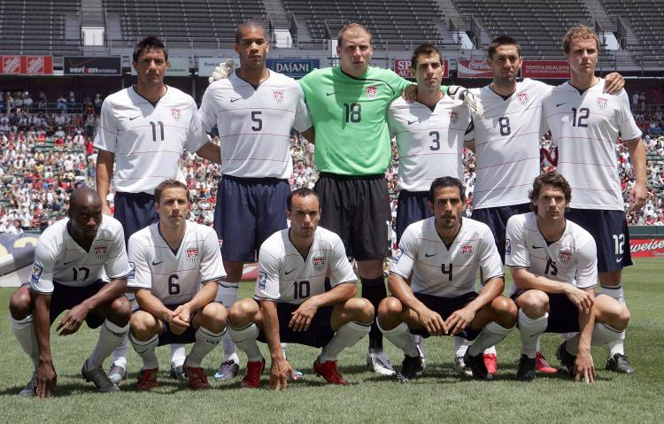 SOCCER PLAYERS WALLPAPER World Cup 2010 USA Football Team Photos 750x479