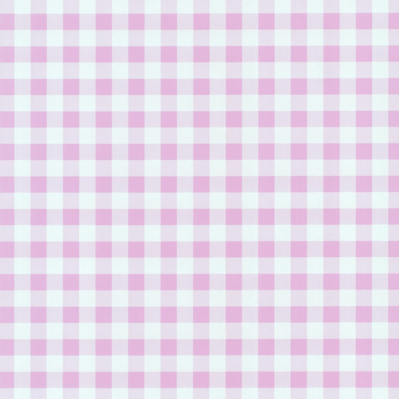 Playground Pale Pink Gingham Check Wallpaper by PS International 800x800