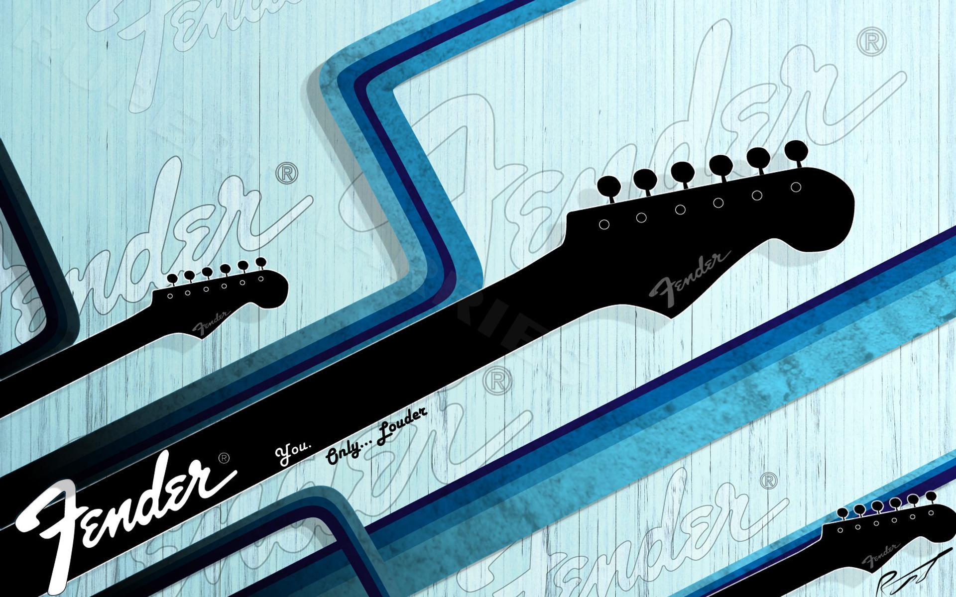 Fender   Guitar Wallpaper 27366949 1920x1200