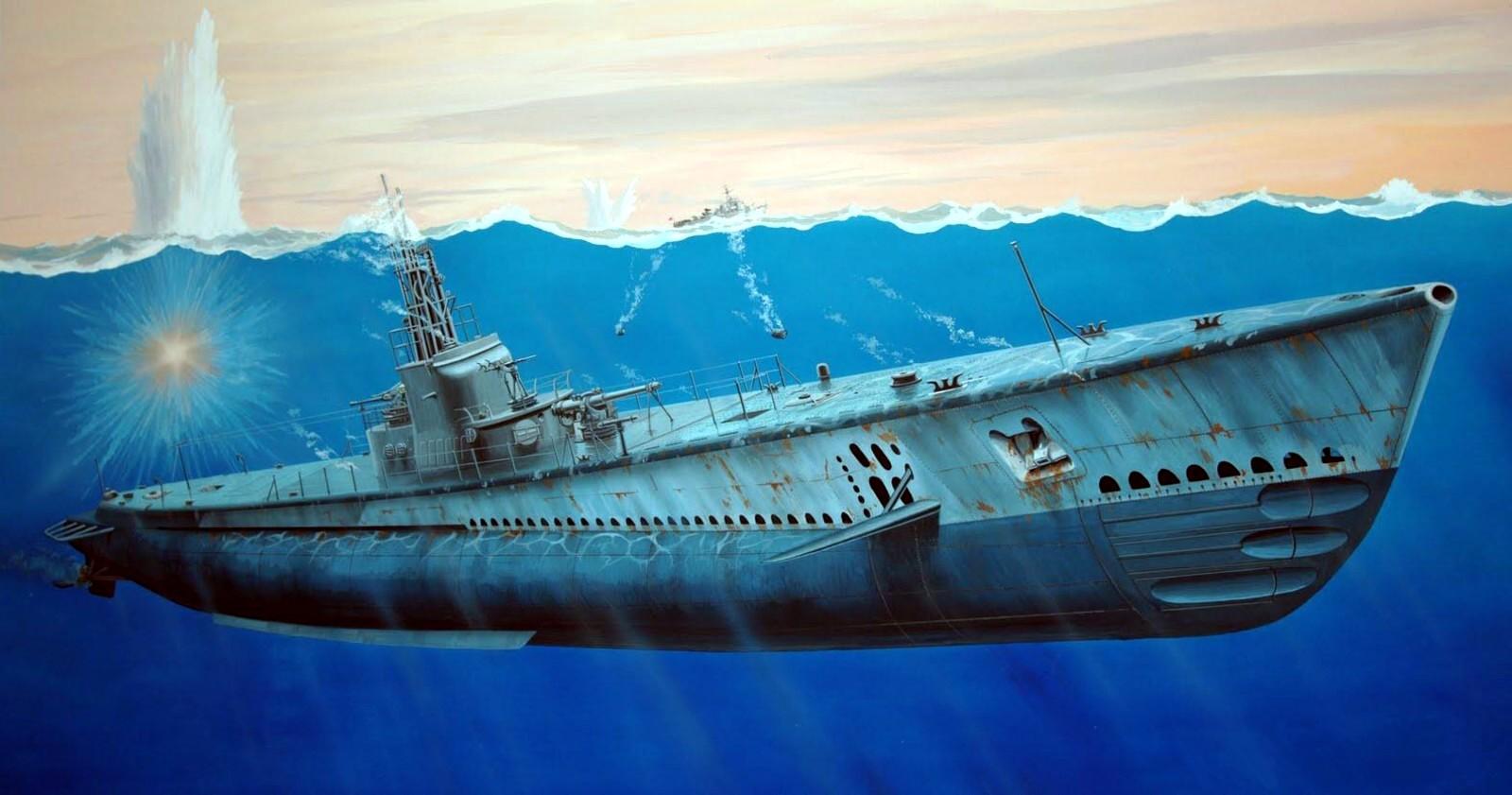 submarine Wallpaper Background 31695 1600x841
