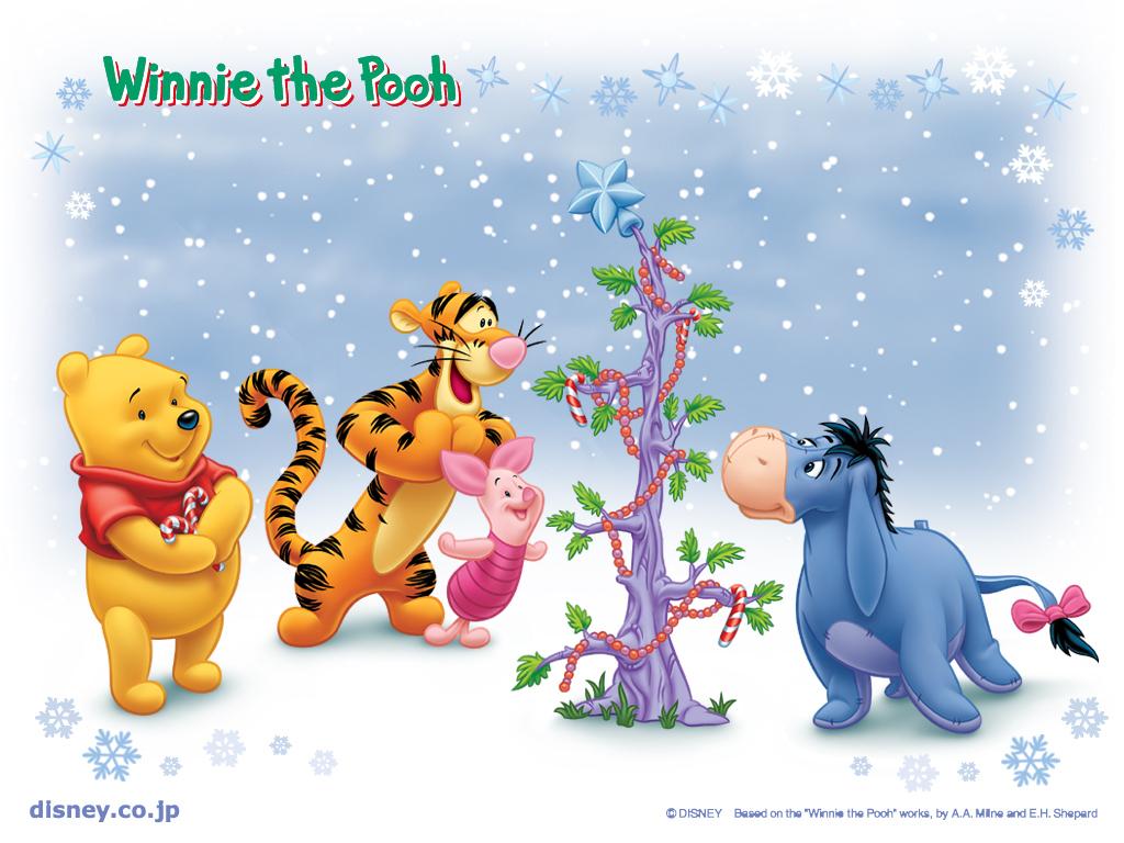 Winnie the Pooh Christmas - Christmas Wallpaper (2735477) - Fanpop