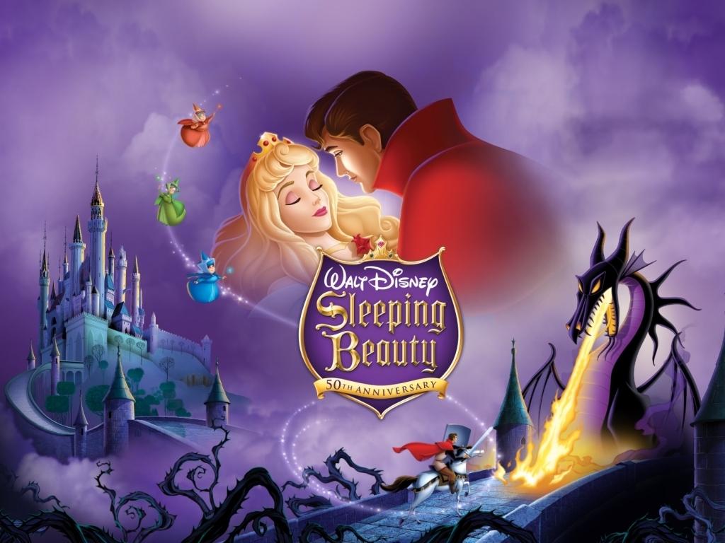 Sleeping Beauty   Classic Disney Wallpaper 24456736 1024x768