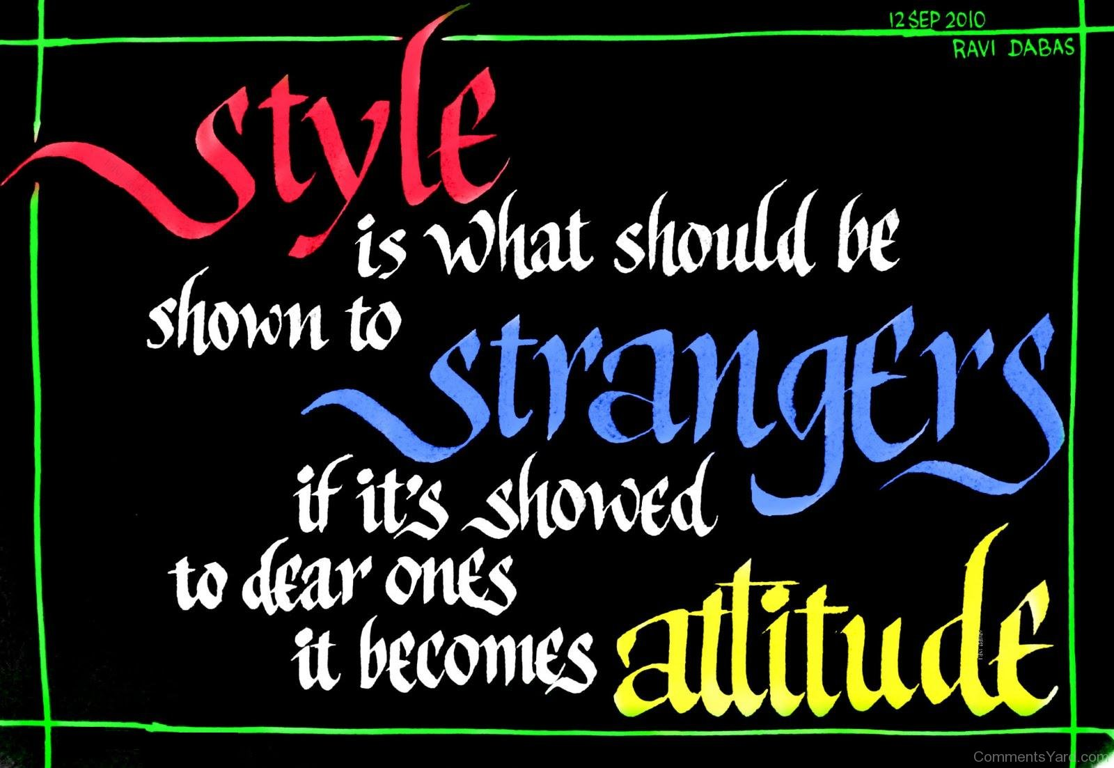 Stylish Girls With Attitude Quotes 1600x1103