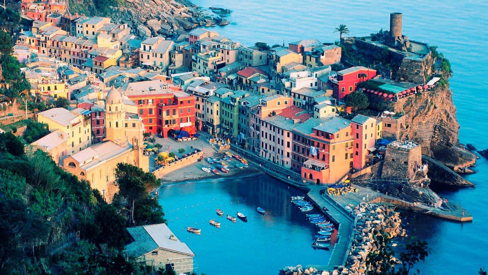 Vernazza Mac Travel Italy Wallpaper Hd Like Wallpapers 1600x900