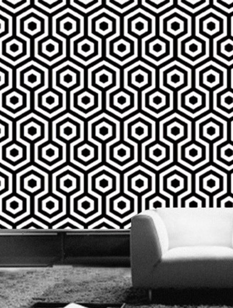 Geometric Pattern Self Adhesive Vinyl Wallpaper D053 by Livettes 34 465x616