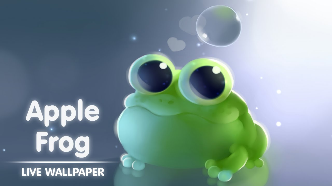 Apple Frog Live Wallpaper 1280x720