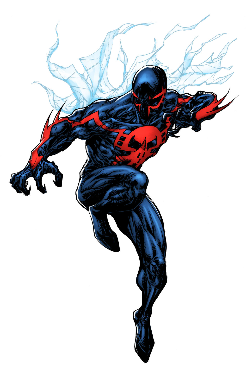 Spider Man 2099   Lummage colors by SpiderGuile 1024x1567