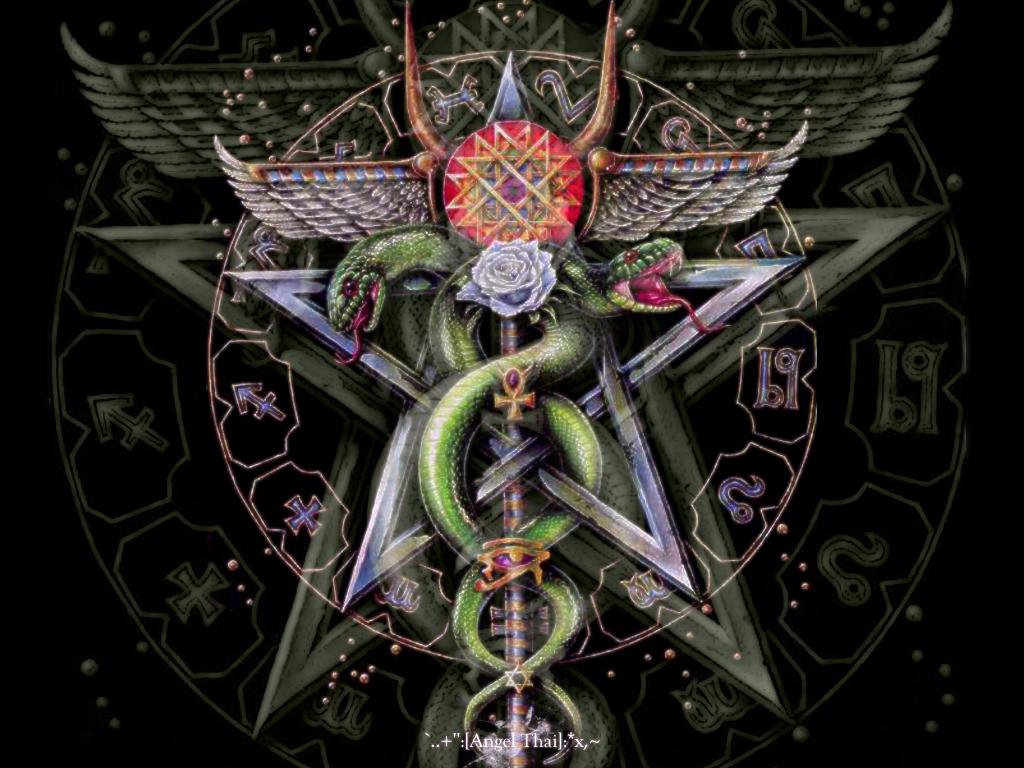 Wiccan Pentagram Wallpaper Pentacle by angelthai 1024x768