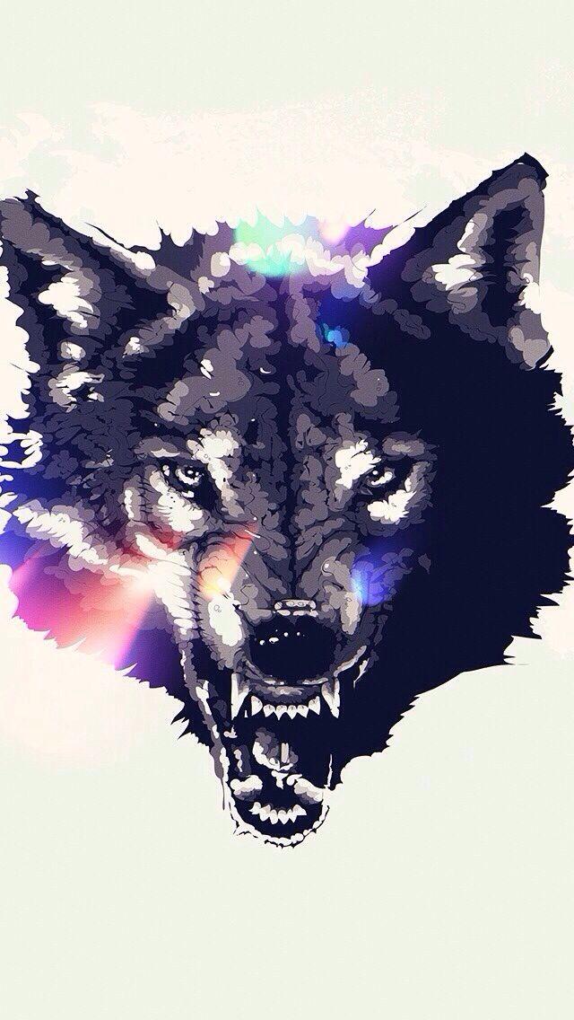 Wolf Iphone Wallpaper Wallpapers Pinterest 640x1136