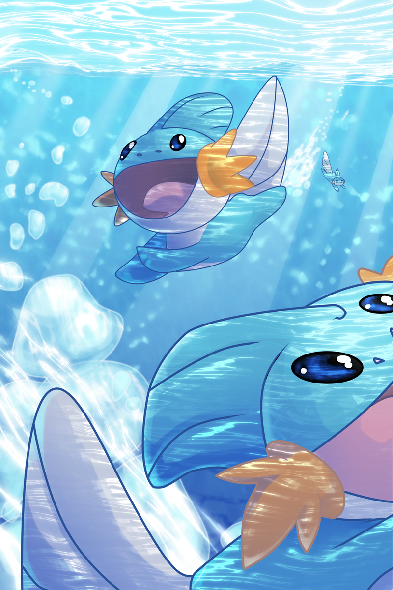 Mudkip   Pokmon   Wallpaper 2257957   Zerochan Anime Image Board 800x1200