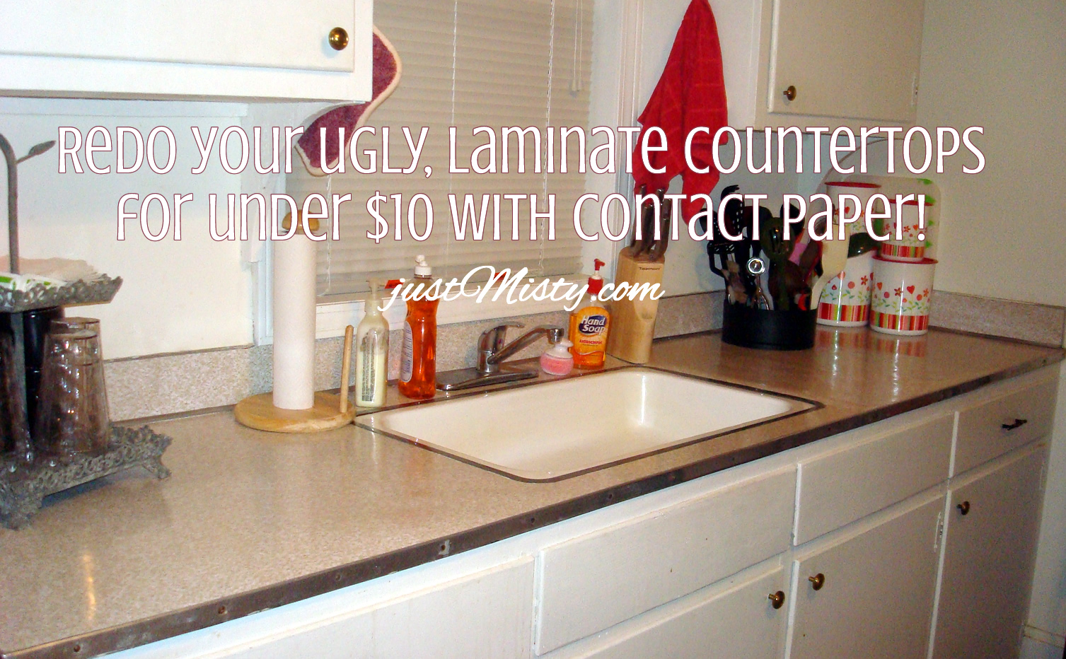 can you wallpaper over laminate formica kitchen countertops Redo your ugly laminate countertops for under 10 with Contact Paper