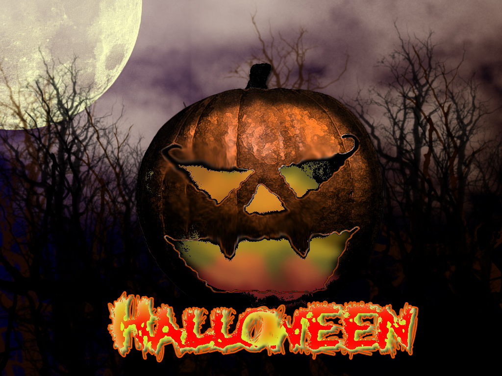 Wallpapers Halloween Screensavers 384 X 288 17 Kb Jpeg HD Wallpapers 1024x768