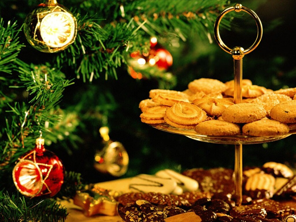 Cookies For Mr Kringle   Christmas Food 1024x768