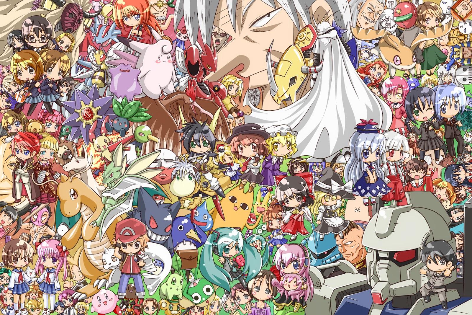 chibi anime wallpaper 108 Chibi Anime Wallpaper 1600x1067