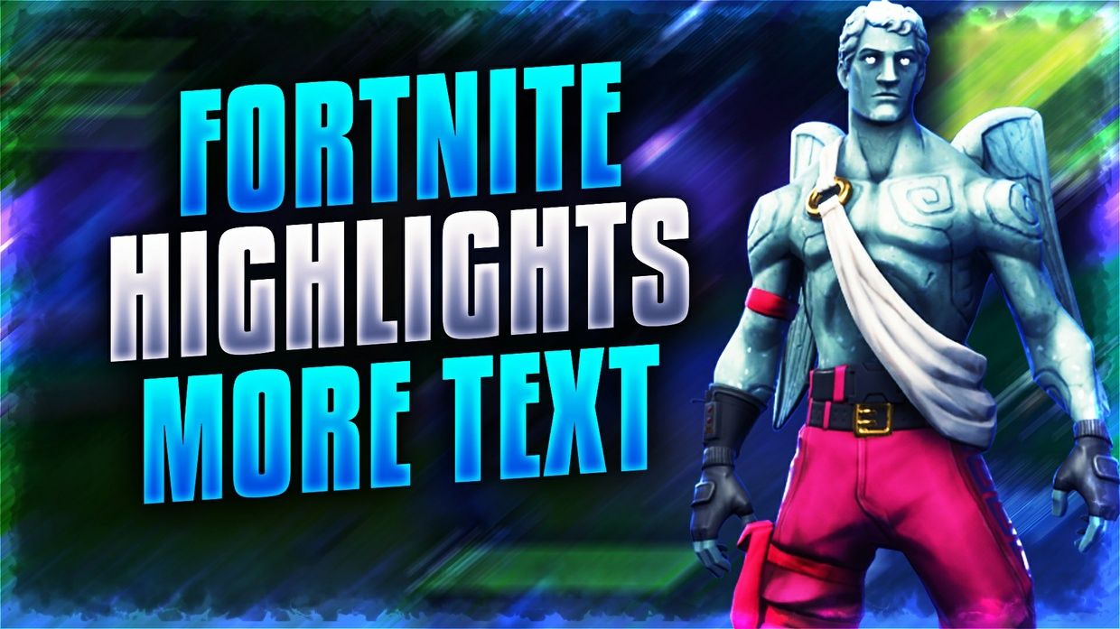 With the Fortnite Thumbnail Template pack you can create stylish 1240x697