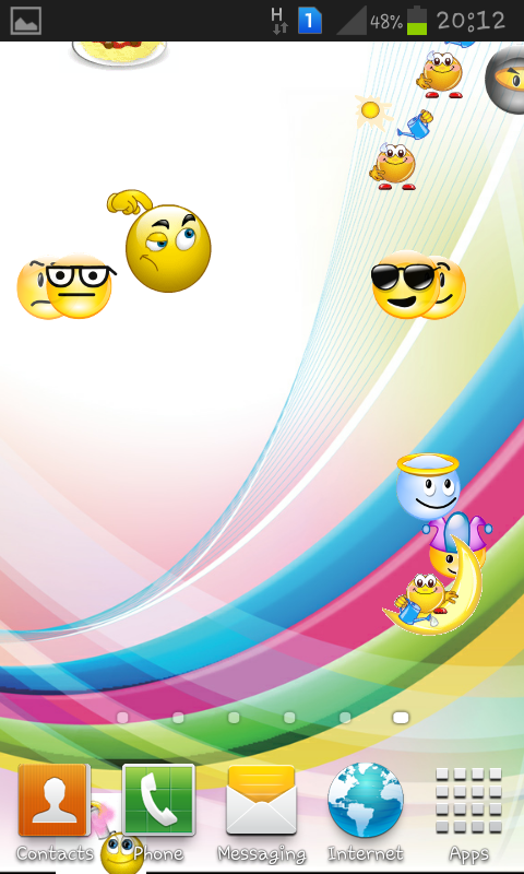 moving emoji backgrounds