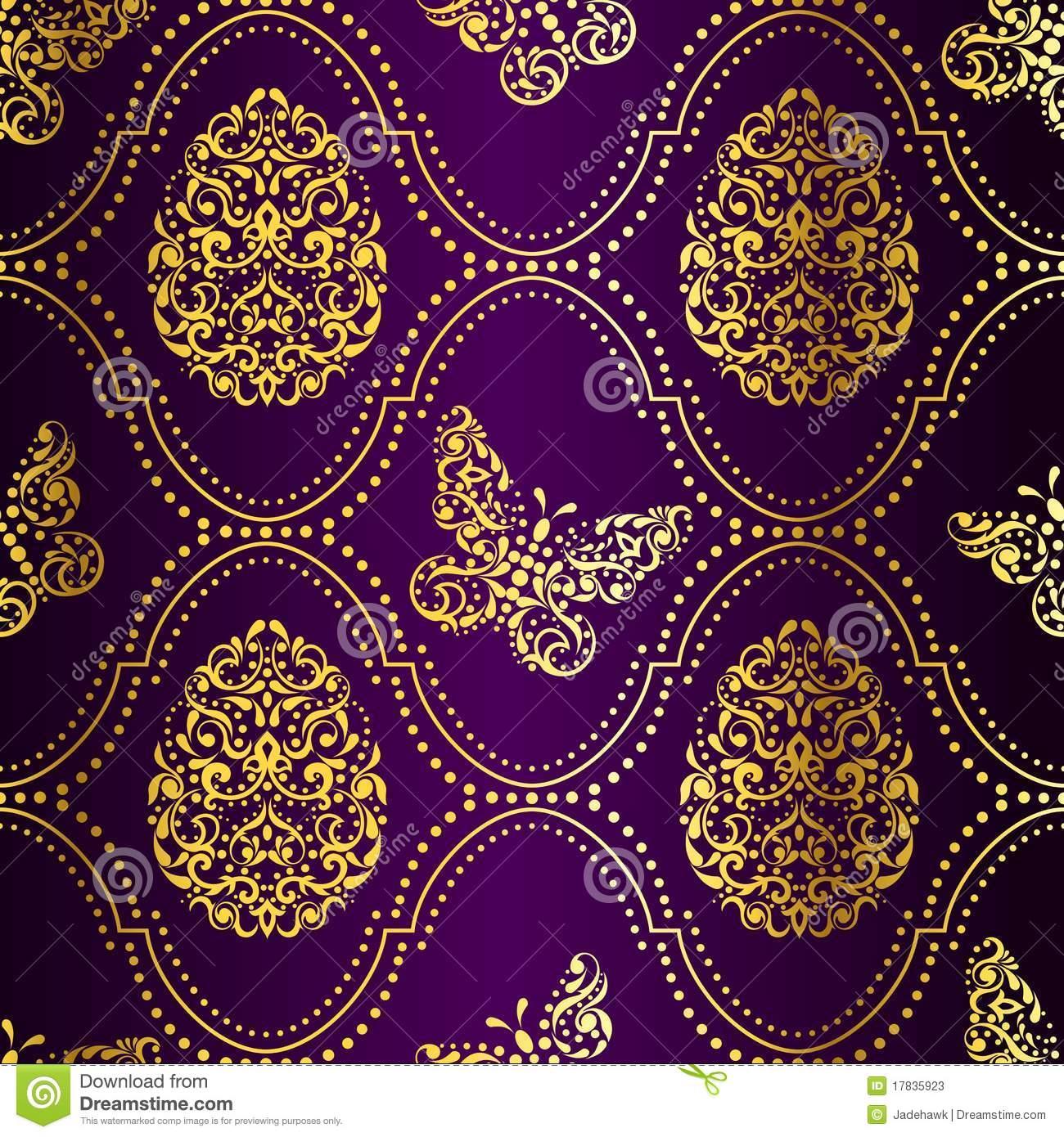 purple gold wallpaper wallpapersafari. Black Bedroom Furniture Sets. Home Design Ideas