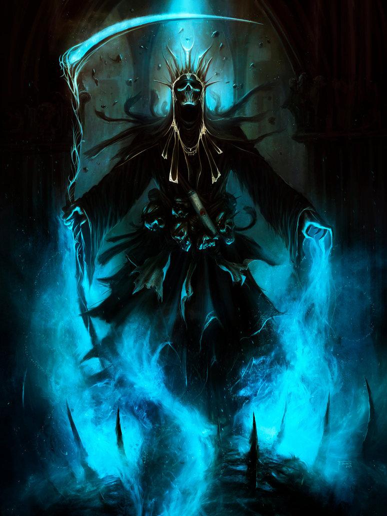 Badass Grim Reaper Wallpaper - WallpaperSafari